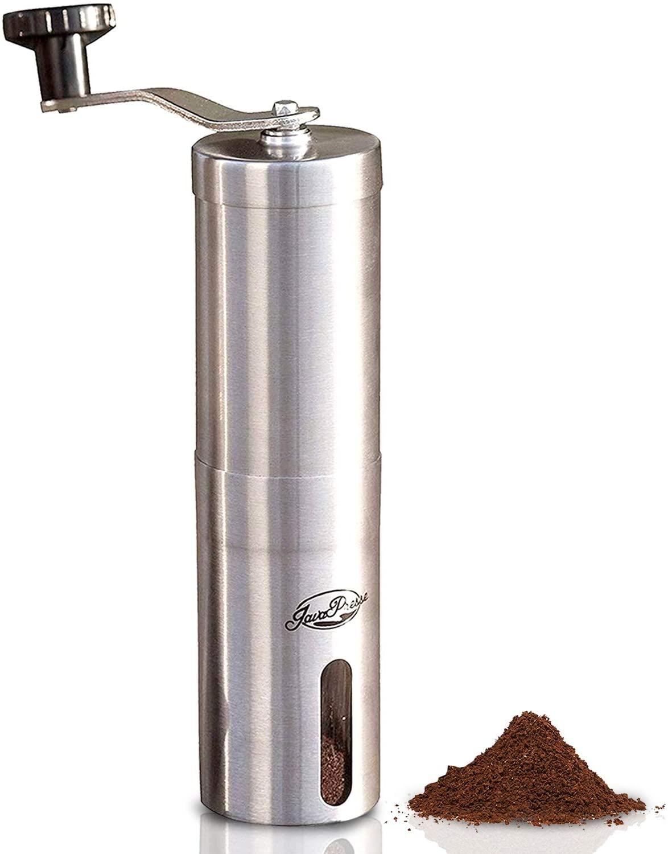 JavaPresse Manual French Press Coffee Grinder